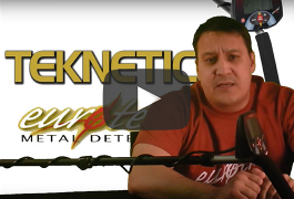 Eurotek Pro Special Features Teknetics New Metal Detector