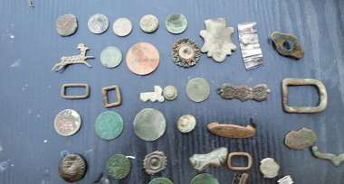 Variety of finds by Darren